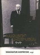 Khatchadour Avedissian, Chansons