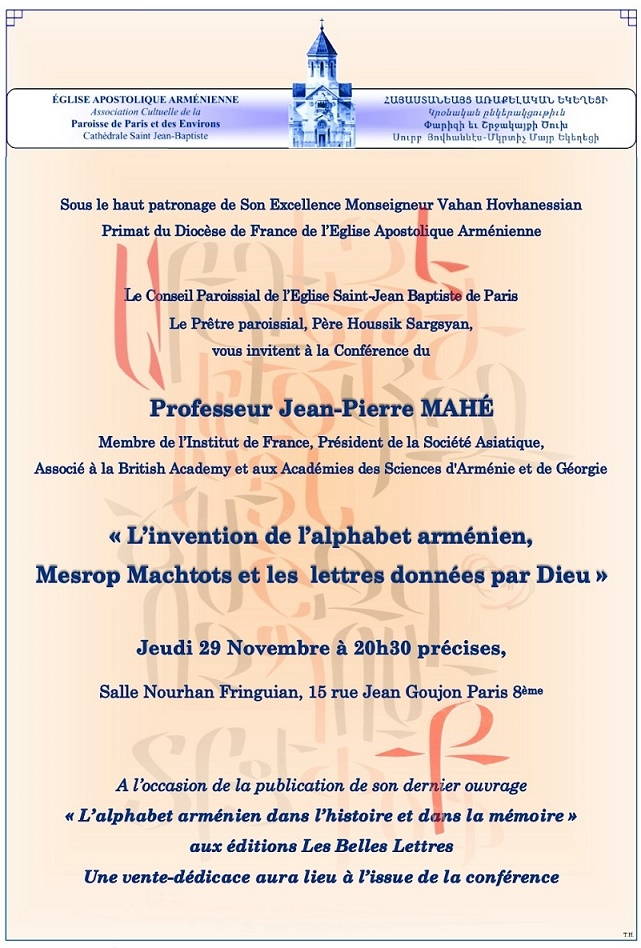 Conférence Jean-Pierre Mahé